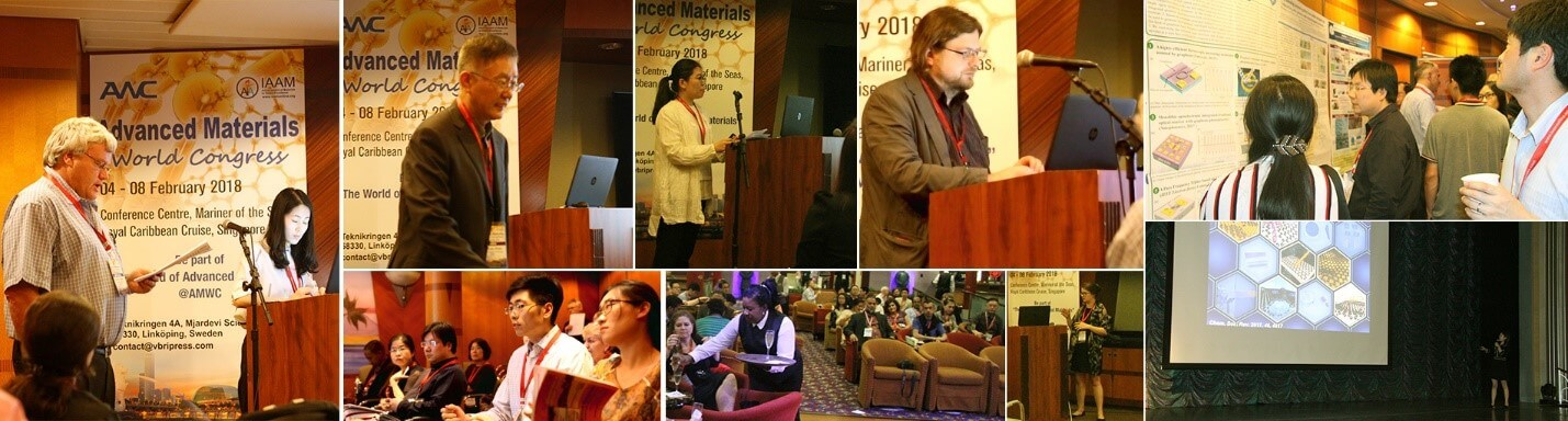 Speakers during advanced materials world congress | IAAM