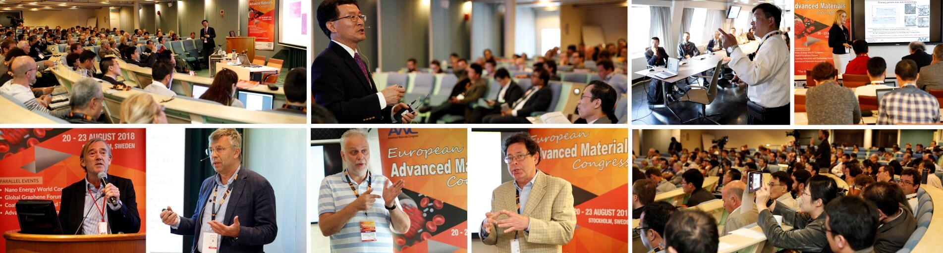 Delegates speaking about european advanced materials congress | IAAM
