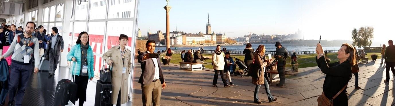 Social activity at two Scandinavian capitals | IAAM