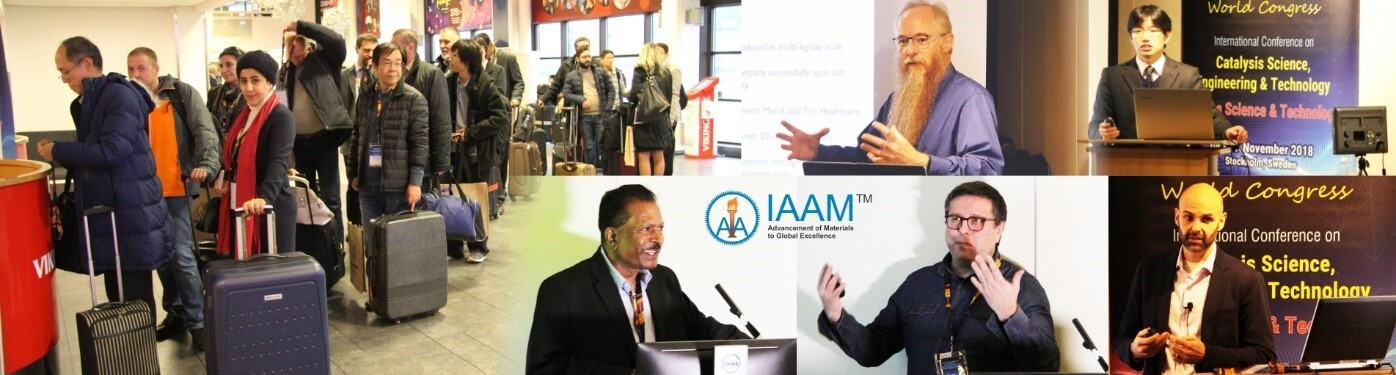 Congress registration and plenary sessions | IAAM