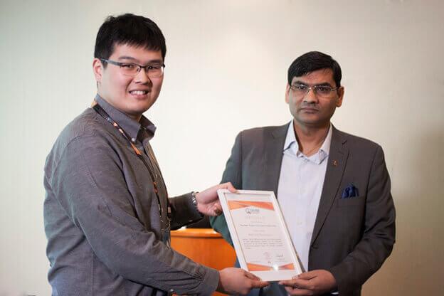 Best Oral Presentation Award from Dr. Ashutosh Tiwari | IAAM