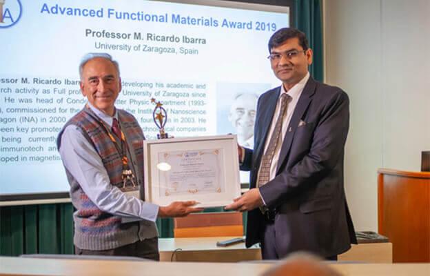 Advanced Functional Materials Award from Ashutosh Tiwari | IAAM