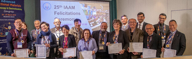 Group photo of IAAM awardees at 25th award assembly | IAAM