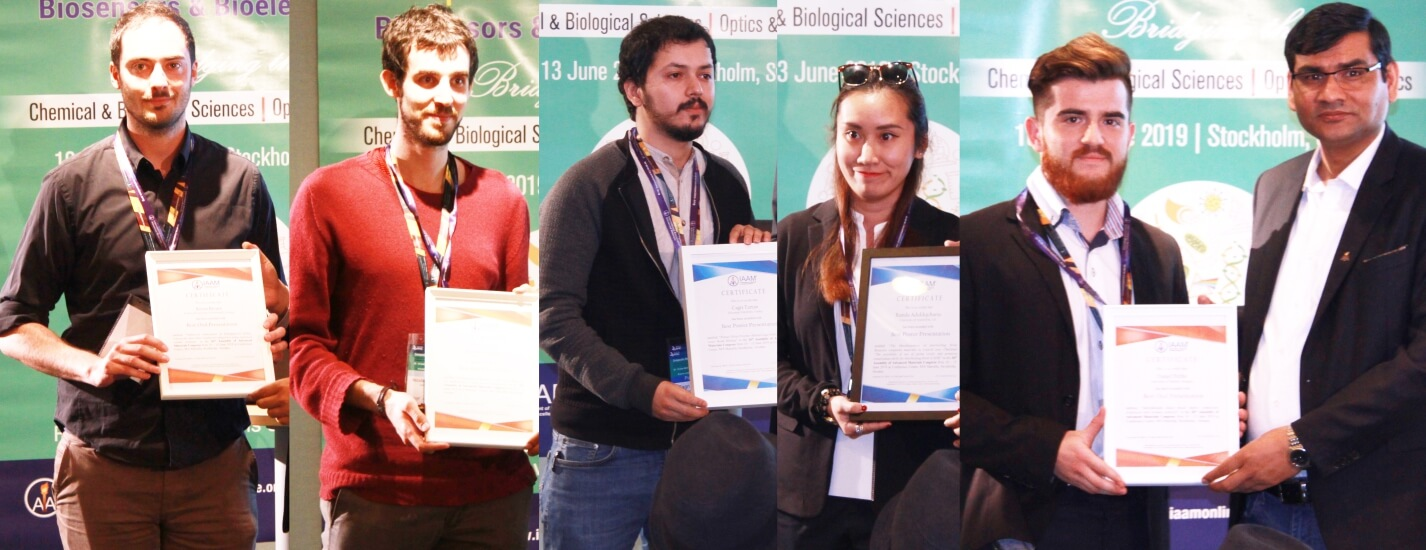 Best Oral and Poster Awards of the 26th assembly of AMC | IAAM