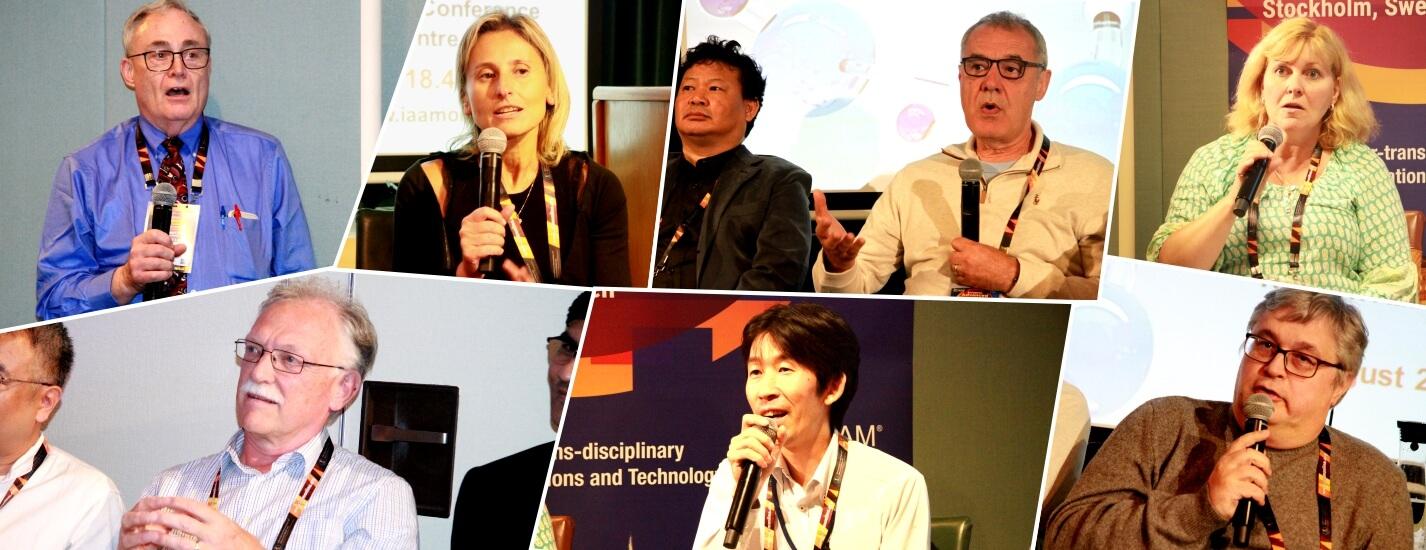 Panelists during the International Consortium | IAAM