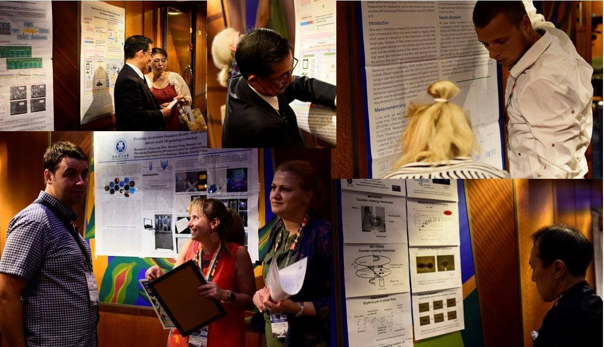Participants during Poster Session of the Asian Advanced Materials Congress | IAAM