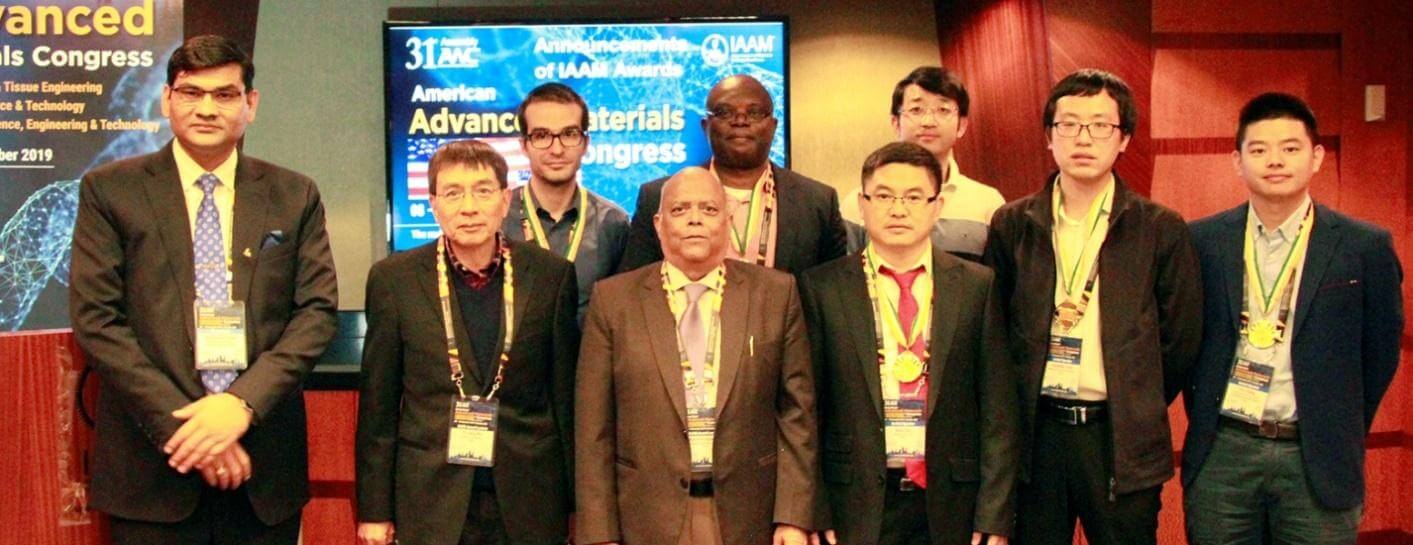 IAAM awardees at 31st award assembly of AMC, Orlando, USA