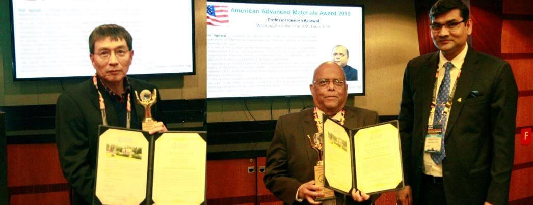 American Advanced Materials Awards to materials scientists, Prof. Ramesh K. Agarwal & Prof. Yi Lung Mo | IAAM