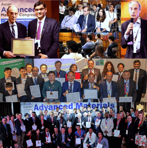 Around 800 researchers from 70 countries have been recognized with prestigious IAAM Awards
