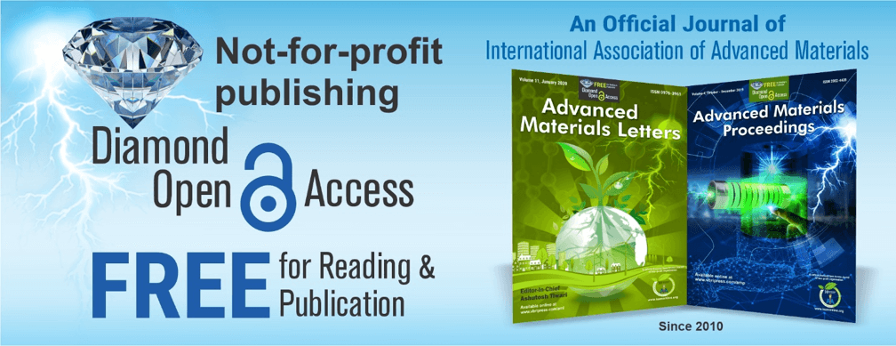 Celebrating 10th Year of Diamond Open Access Publishing in Advanced Materials