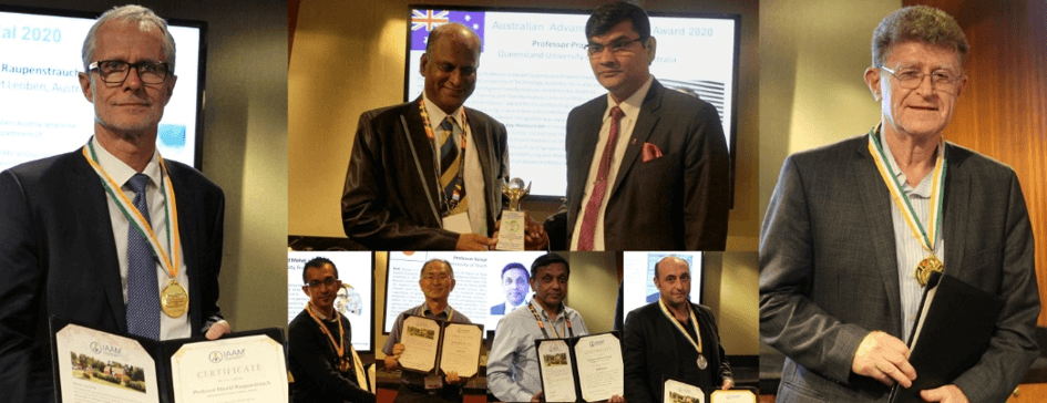 Researchers recognized in the 32nd assembly IAAM felicitation ceremony at Advanced Materials Congress, Australia | IAAM