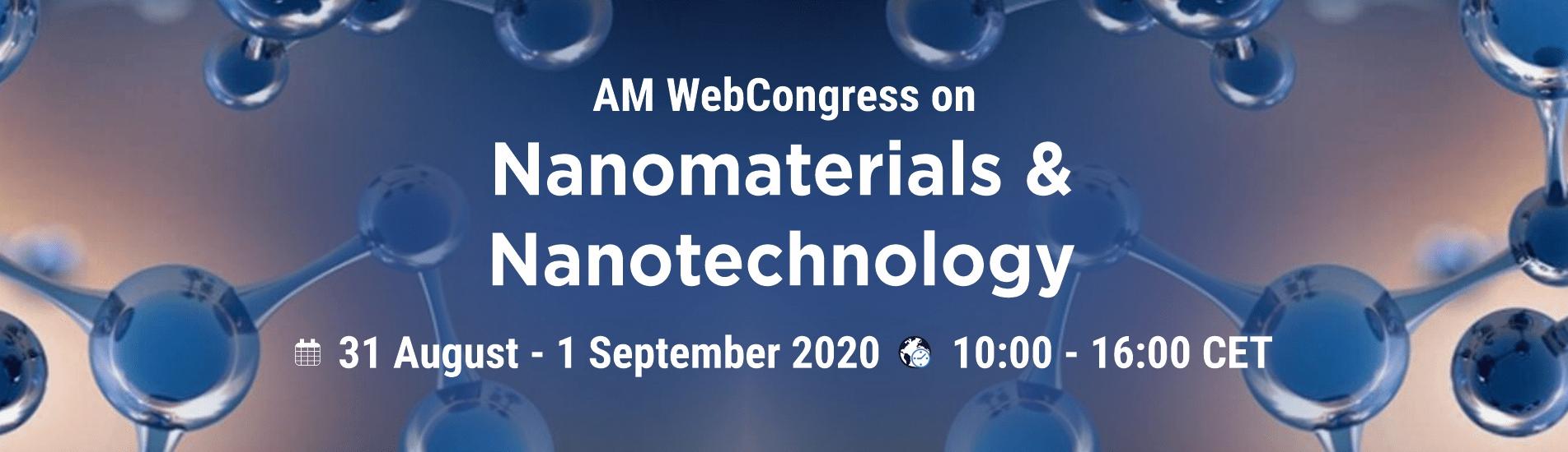 WebCongress on Nanomaterials and Nanotechnology | AMWeb | IAAM