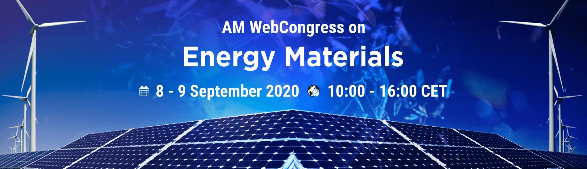WebCongress on Energy Materials | AMWeb | IAAM