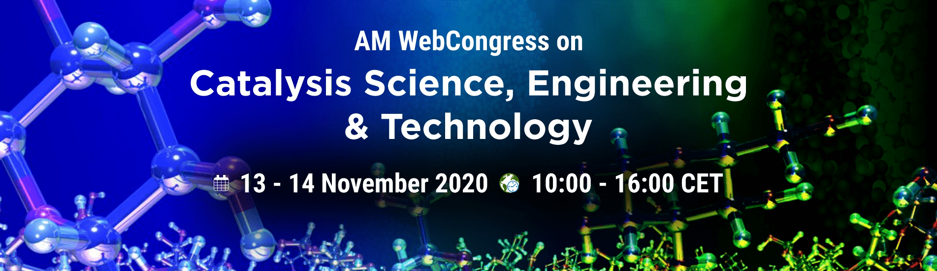 WebCongress on catalysis science, engineering, and technology | AMWeb | IAAM