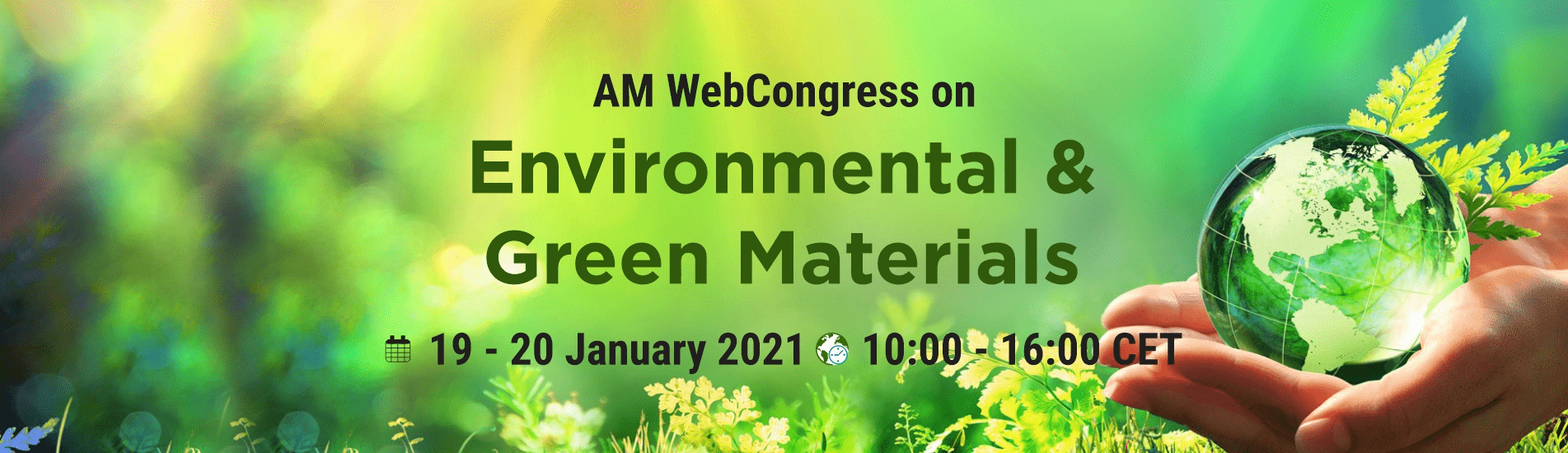 WebCongress on Environmental and Green Materials | AMWeb | IAAM