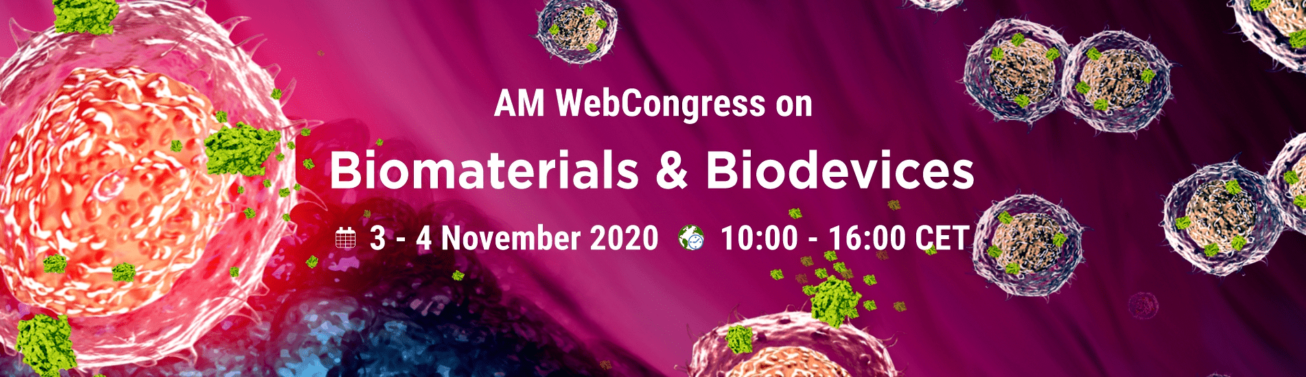 WebCongress on Biomaterials and Biodevices | AMWeb | IAAM