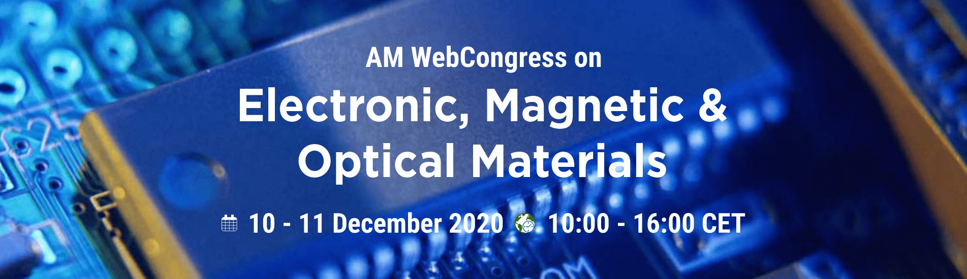 WebCongress on Electronic, Magnetic, and Optical Materials | AMWeb | IAAM