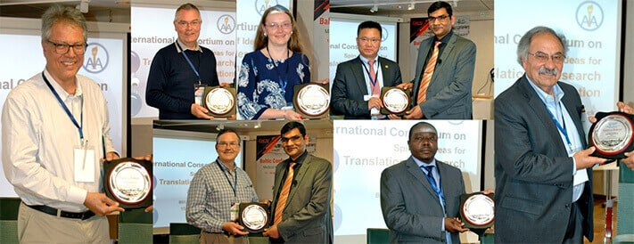 Guest of honors conveys to the panelists in the international consortium on spin-off ideas during 4th BCS