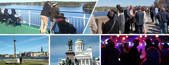 Cultural and Social activity at two Scandinavian capitals   IAAM